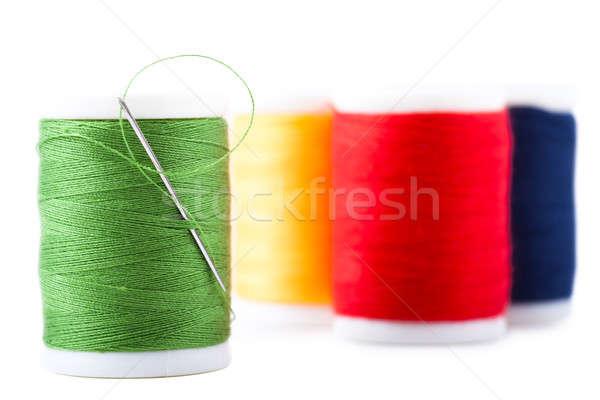 Fio quatro verde vermelho azul amarelo Foto stock © AGorohov