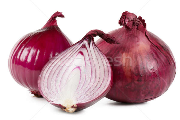 Red onions Stock photo © AGorohov