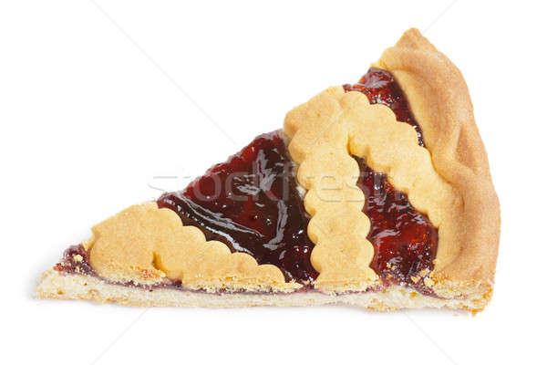 A piece of pie Stock photo © AGorohov