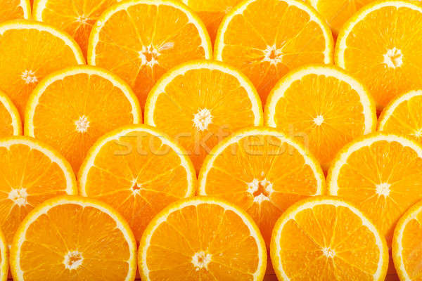 Naranjas resumen frescos jugoso naranja rebanadas Foto stock © AGorohov
