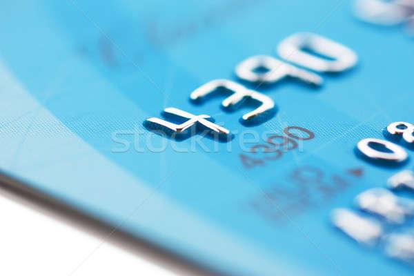 Creditcard macro smal focus business Stockfoto © AGorohov