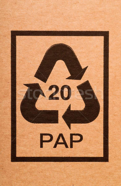 Recycling code Stock photo © AGorohov