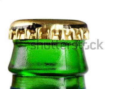 Macro metalen dekken water Stockfoto © AGorohov