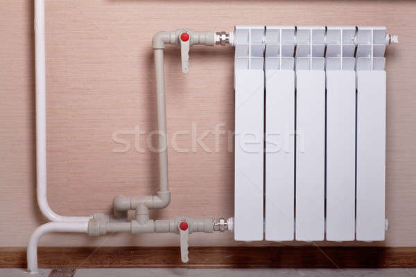 Radiator in a room Stock photo © AGorohov