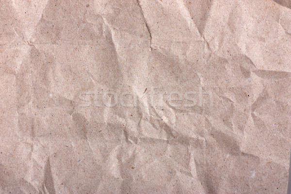 Pakket papier winkelen witte patroon lunch Stockfoto © AGorohov
