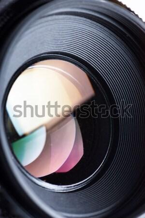 Lens Stock photo © AGorohov