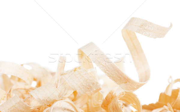 Wooden shaving Stock photo © AGorohov