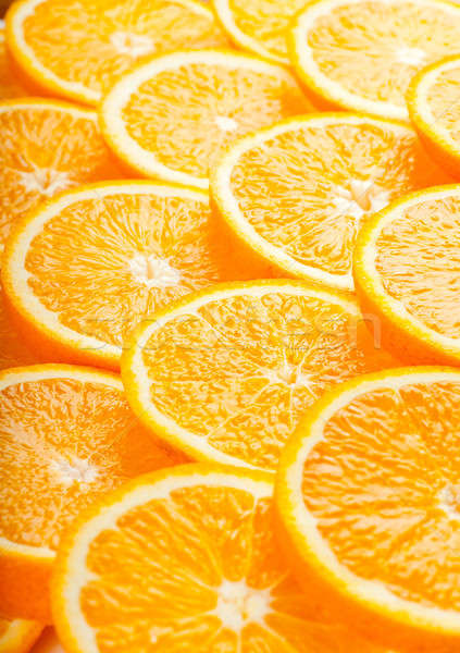 Portakal soyut taze sulu turuncu dilimleri Stok fotoğraf © AGorohov