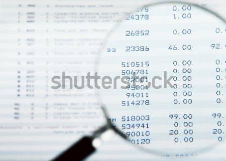 Financial report Stock photo © AGorohov