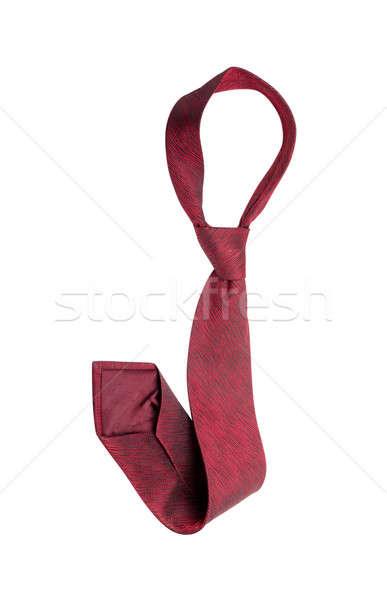 Red tie Stock photo © AGorohov