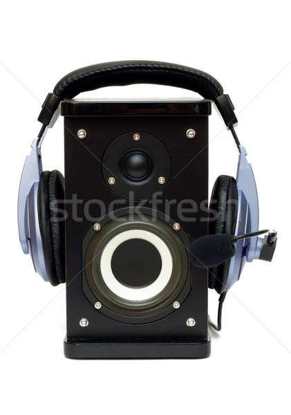 Listening Stock photo © AGorohov