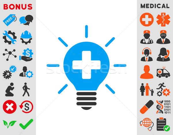 Medical Lamp Icon Stock photo © ahasoft