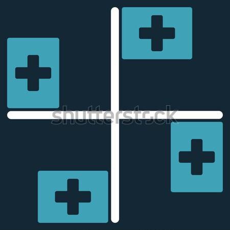 Pharmacy Flat Vector Icon Stock photo © ahasoft