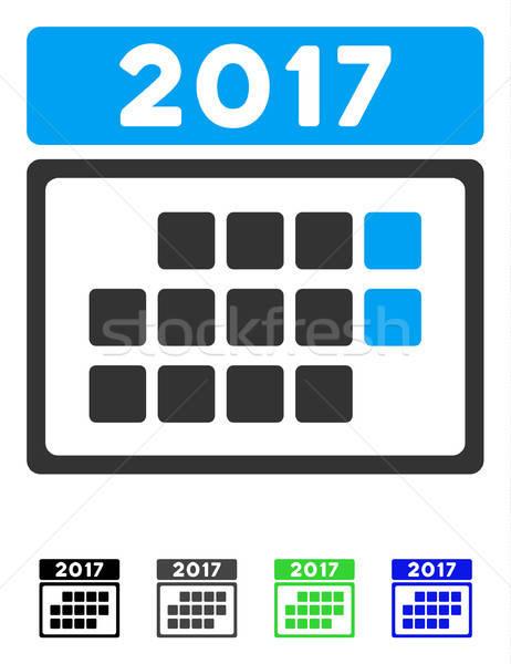 日曆 月 表 圖標 灰色 黑色 商業照片 © ahasoft