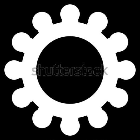 Szövetség vállalat ikon vektor piktogram stílus Stock fotó © ahasoft