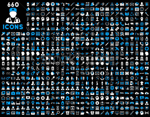 Medical vector icons Stock photo © ahasoft