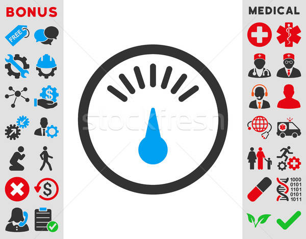 Meter Icon Stock photo © ahasoft