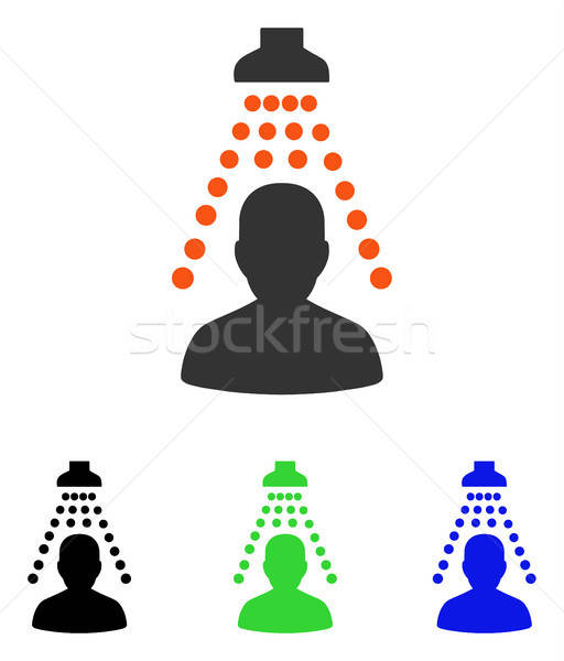 Patient Disinfection Flat Vector Icon Stock photo © ahasoft