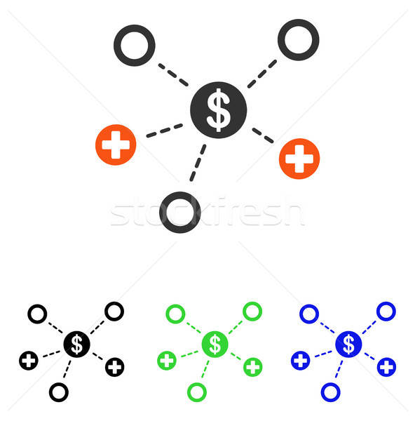Financial Medical Relations Flat Vector Icon Stock photo © ahasoft