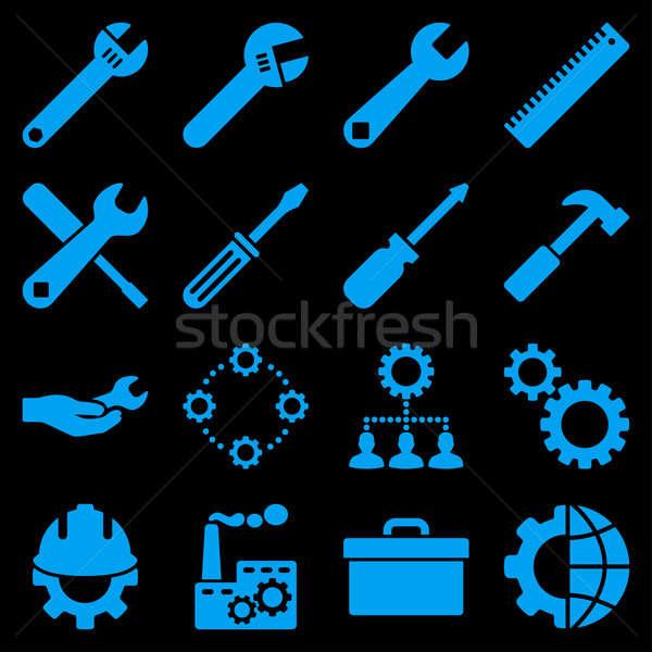 オプション サービス ツール スタイル シンボル ストックフォト © ahasoft
