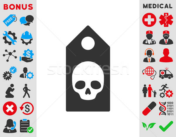 Death Coupon Icon Stock photo © ahasoft