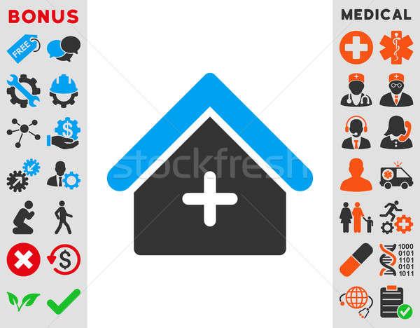 Clinic Icon Stock photo © ahasoft