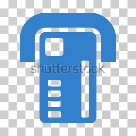 Bitcoin Shop Flat Icon Stock photo © ahasoft