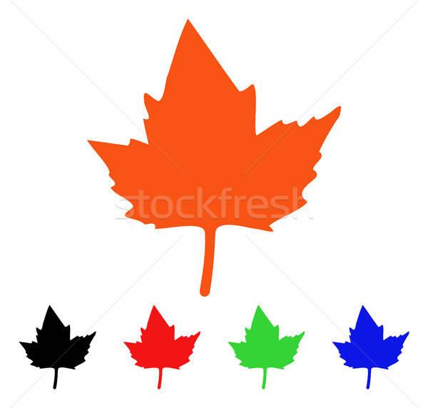 Currant Leaf Vector Icon Stock photo © ahasoft