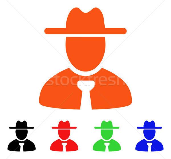Cavalheiro vetor ícone estilo icônico símbolo Foto stock © ahasoft