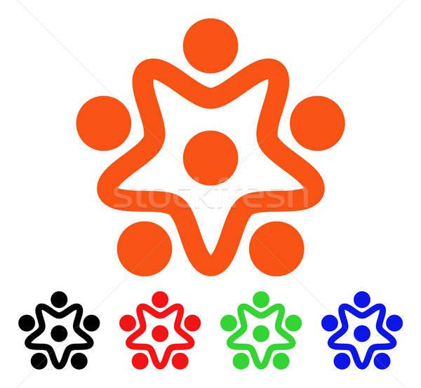 User Organization Vector Icon Stock photo © ahasoft