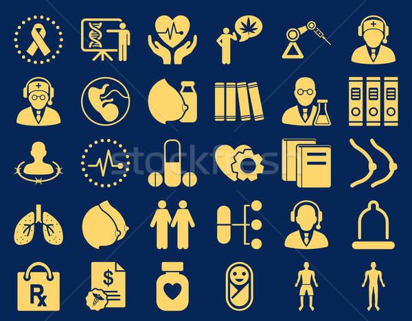 Medical Icon Set Stock photo © ahasoft