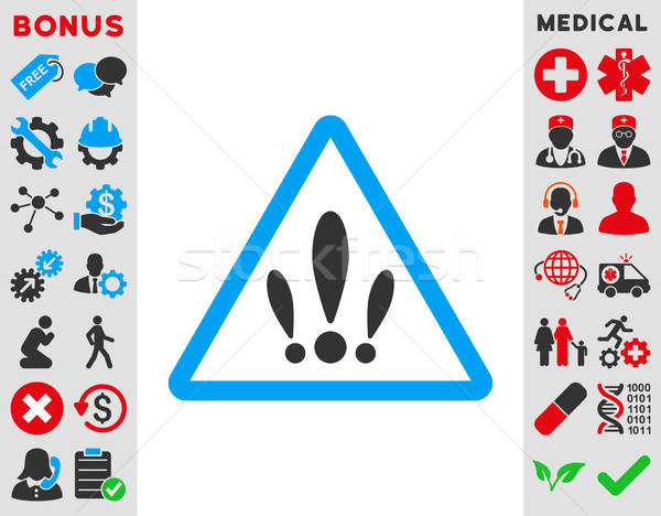 Multiple problèmes icône vecteur style symbole Photo stock © ahasoft
