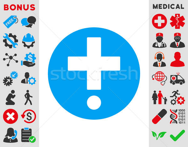 Pharmacy Icon Stock photo © ahasoft