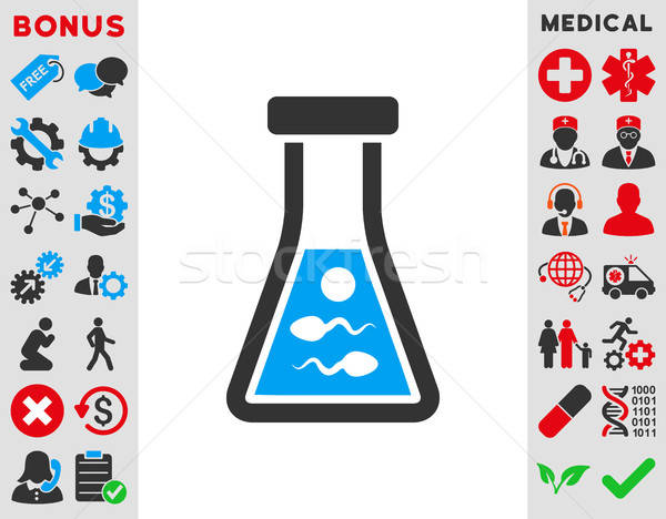 Sperm Liquid Icon Stock photo © ahasoft