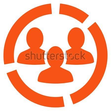 Stockfoto: Persoon · vector · icon · stijl · symbool