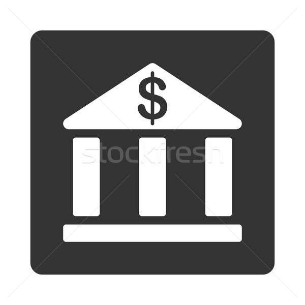 Bank icon Stock photo © ahasoft