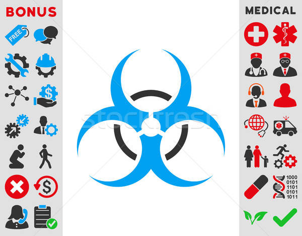 Bio Hazard Icon Stock photo © ahasoft