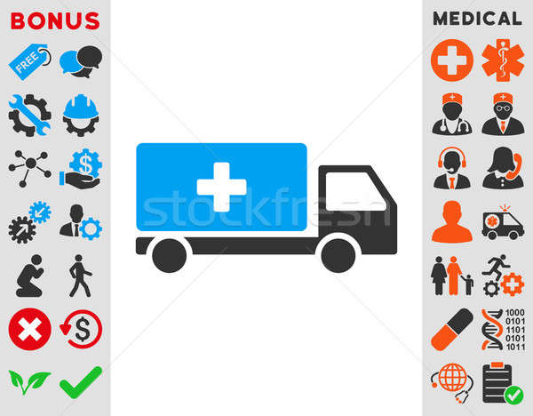 Medical Shipment Icon Stock photo © ahasoft