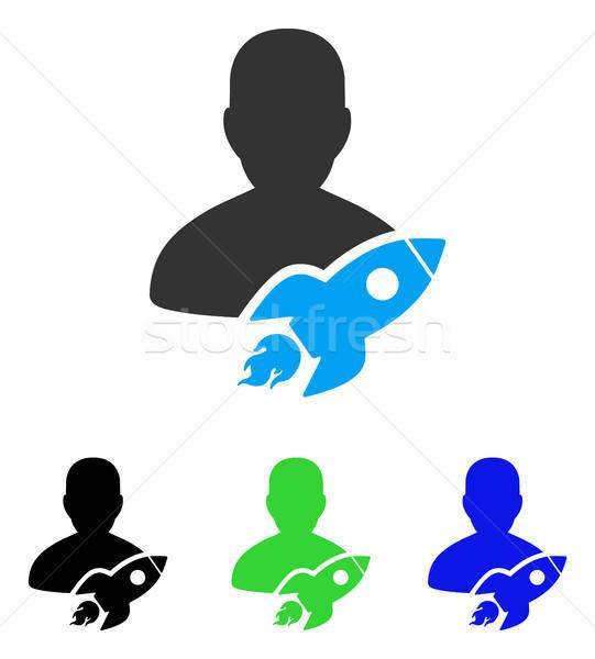 икона вектора стиль графических символ цвета Сток-фото © ahasoft