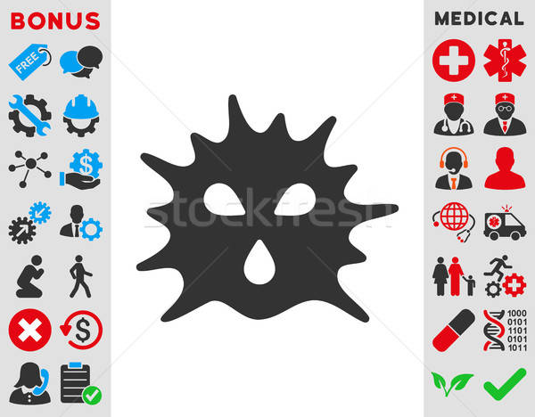 Stock photo: Virus Structure Icon