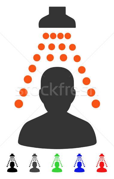 Patient Disinfection Flat Icon Stock photo © ahasoft
