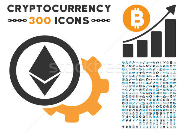 Opciones icono bitcoin inteligentes contrato Foto stock © ahasoft