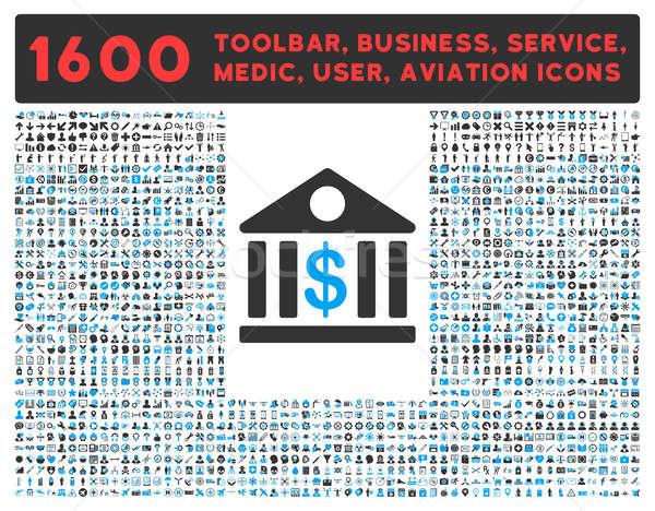 銀行 圖標 象形 採集 其他 商業照片 © ahasoft
