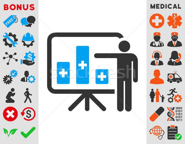 Stock photo: Medical Public Report Icon