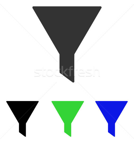 Filter Flat Vector Icon Stock photo © ahasoft