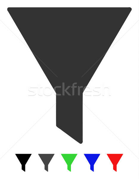 Filter Flat Icon Stock photo © ahasoft
