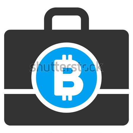 Bitcoin Refund Back Flat Icon Stock photo © ahasoft
