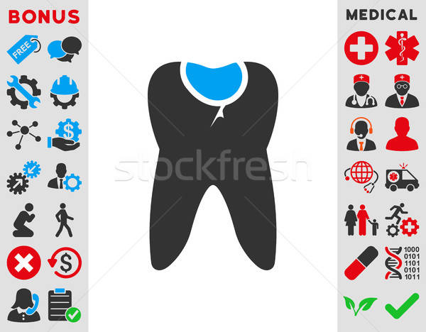 Tooth Caries Icon Stock photo © ahasoft