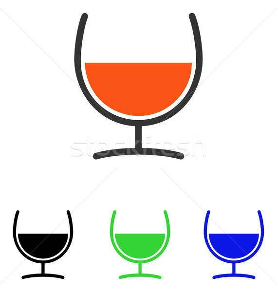 çare cam vektör ikon örnek stil Stok fotoğraf © ahasoft