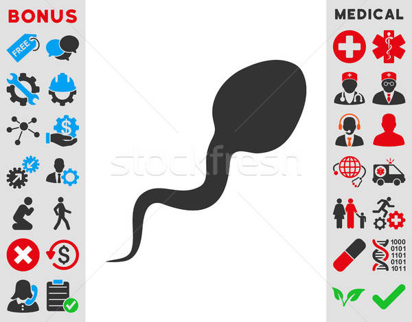 Spermatozoon Icon Stock photo © ahasoft